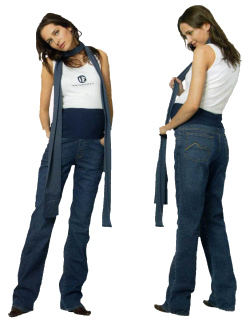 bellybutton - Umstandshose - Jeans Mary Straight Leg